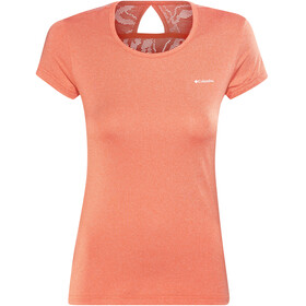 Columbia Peak to Point Novelty Kortærmet T-shirt Damer orange